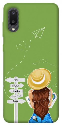 Чехол itsPrint Travel girl для Samsung Galaxy A02