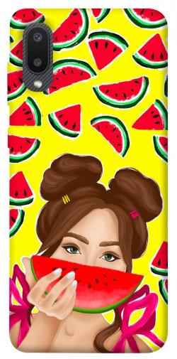 Чехол itsPrint Watermelon girl для Samsung Galaxy A02