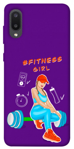 Чехол itsPrint Fitness girl для Samsung Galaxy A02