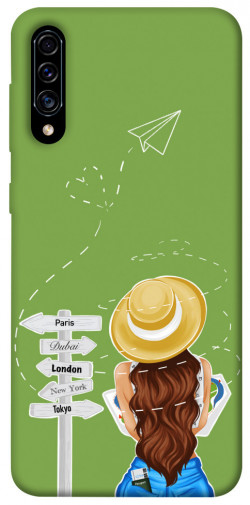 Чехол itsPrint Travel girl для Samsung Galaxy A50 (A505F) / A50s / A30s