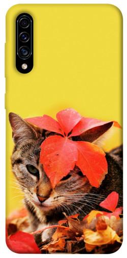 Чехол itsPrint Осенний котик для Samsung Galaxy A50 (A505F) / A50s / A30s
