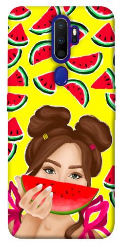 Чехол itsPrint Watermelon girl для Oppo A9 (2020)