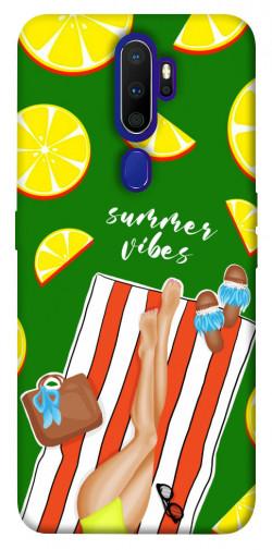 Чехол itsPrint Summer girl для Oppo A9 (2020)