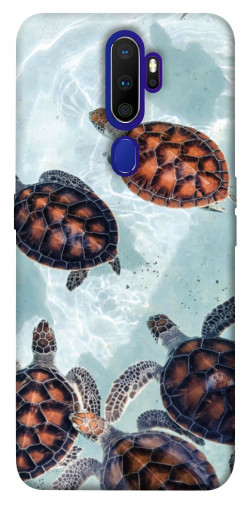Чехол itsPrint Морские черепахи для Oppo A9 (2020)