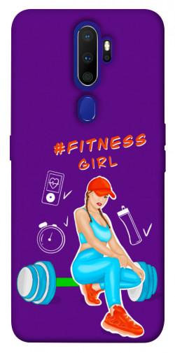 Чехол itsPrint Fitness girl для Oppo A9 (2020)