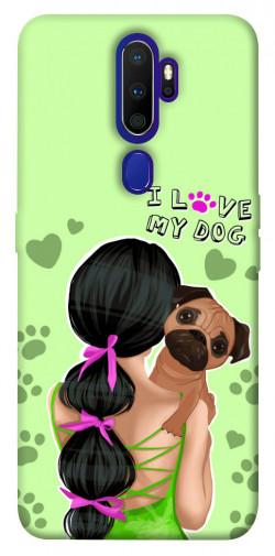 Чехол itsPrint Love my dog для Oppo A9 (2020)