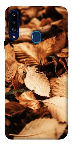 Чехол itsPrint Опавшая листва для Samsung Galaxy A20s