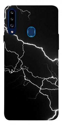 Чехол itsPrint Молния для Samsung Galaxy A20s