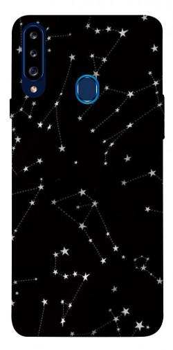 Чехол itsPrint Созвездия для Samsung Galaxy A20s