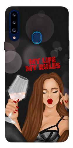 Чехол itsPrint My life my rules для Samsung Galaxy A20s