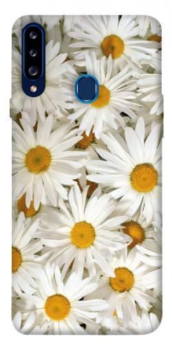 Чехол itsPrint Ромашки для Samsung Galaxy A20s