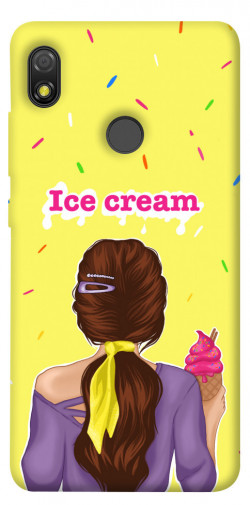 Чехол itsPrint Ice cream girl для TECNO POP 3