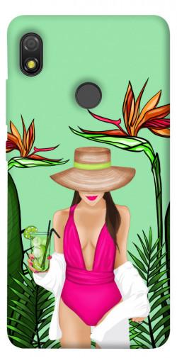 Чехол itsPrint Tropical girl для TECNO POP 3