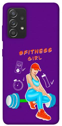 Чехол itsPrint Fitness girl для Samsung Galaxy A72 4G / A72 5G