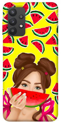 Чехол itsPrint Watermelon girl для Samsung Galaxy A32 (A325F) 4G