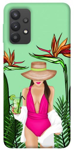 Чехол itsPrint Tropical girl для Samsung Galaxy A32 (A325F) 4G
