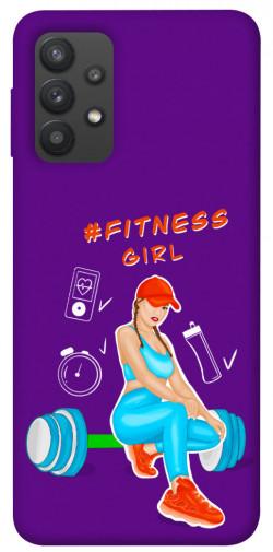 Чехол itsPrint Fitness girl для Samsung Galaxy A32 (A325F) 4G