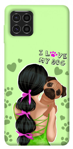 Чехол itsPrint Love my dog для Samsung Galaxy M62
