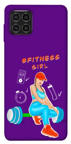 Чехол itsPrint Fitness girl для Samsung Galaxy M62