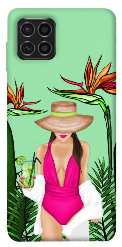Чехол itsPrint Tropical girl для Samsung Galaxy M62