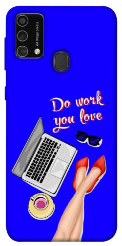 Чехол itsPrint Do work you love для Samsung Galaxy M21s