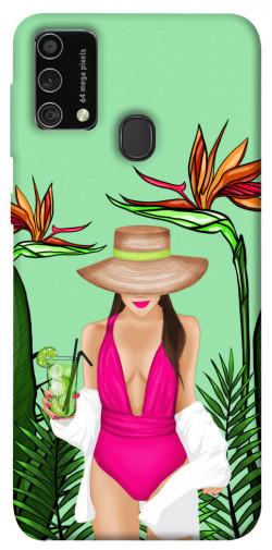 Чехол itsPrint Tropical girl для Samsung Galaxy M21s