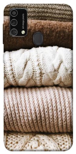 Чехол itsPrint Knitted aesthetics для Samsung Galaxy M21s