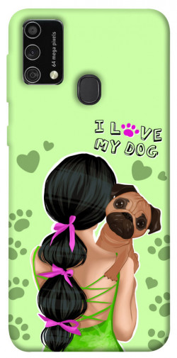 Чехол itsPrint Love my dog для Samsung Galaxy M21s