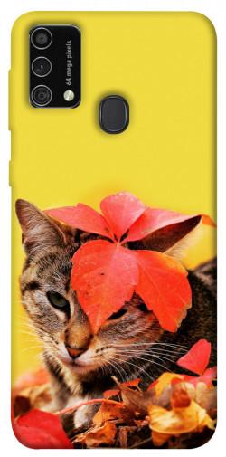 Чехол itsPrint Осенний котик для Samsung Galaxy M21s