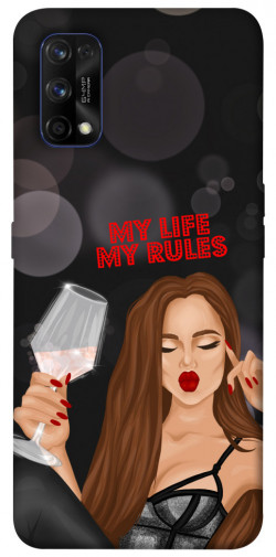Чехол itsPrint My life my rules для Realme 7 Pro