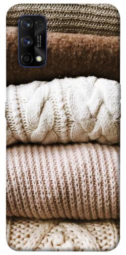 Чехол itsPrint Knitted aesthetics для Realme 7 Pro