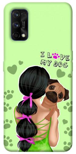 Чехол itsPrint Love my dog для Realme 7 Pro