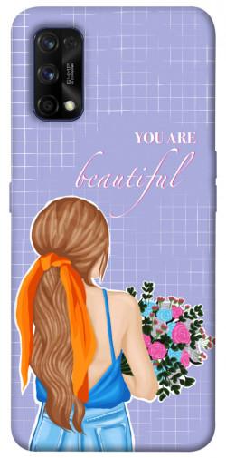 Чехол itsPrint You are beautiful для Realme 7 Pro