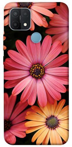 Чехол itsPrint Осенние цветы для Oppo A15s / A15