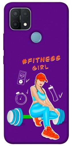 Чехол itsPrint Fitness girl для Oppo A15s / A15