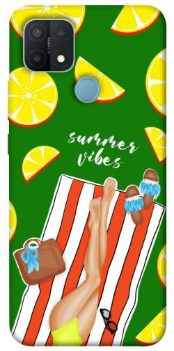 Чехол itsPrint Summer girl для Oppo A15s / A15