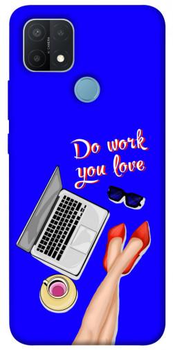 Чехол itsPrint Do work you love для Oppo A15s / A15