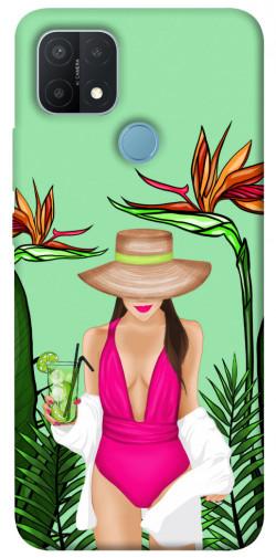 Чехол itsPrint Tropical girl для Oppo A15s / A15