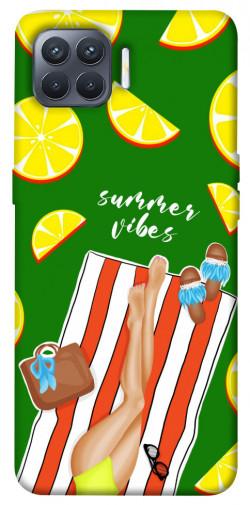 Чехол itsPrint Summer girl для Oppo Reno 4 Lite