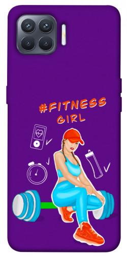 Чехол itsPrint Fitness girl для Oppo Reno 4 Lite
