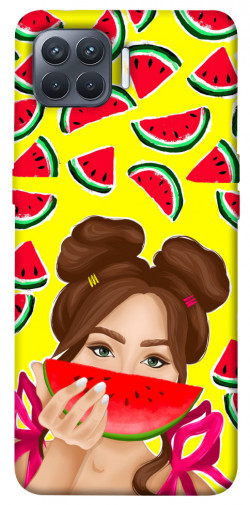 Чехол itsPrint Watermelon girl для Oppo Reno 4 Lite