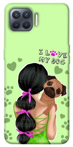 Чехол itsPrint Love my dog для Oppo Reno 4 Lite
