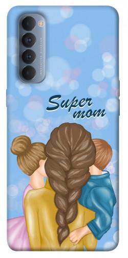 Чехол itsPrint Super mommy для Oppo Reno 4 Pro