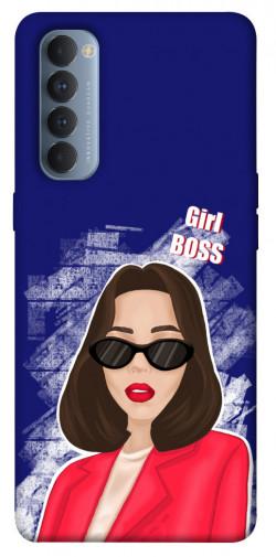 Чехол itsPrint Girl boss для Oppo Reno 4 Pro