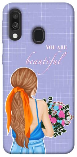 Чехол itsPrint You are beautiful для Samsung Galaxy A40 (A405F)