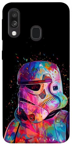 Чехол itsPrint Color astronaut для Samsung Galaxy A40 (A405F)