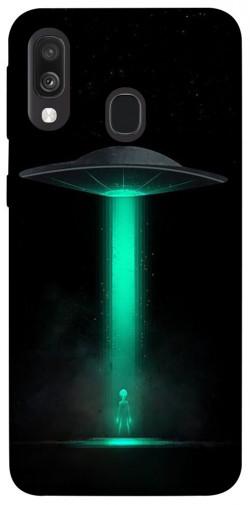 Чехол itsPrint Марсианин для Samsung Galaxy A40 (A405F)