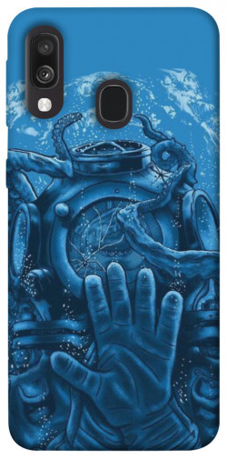 Чехол itsPrint Astronaut art для Samsung Galaxy A40 (A405F)