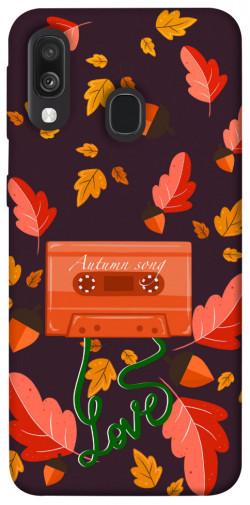 Чехол itsPrint Autumn sound для Samsung Galaxy A40 (A405F)