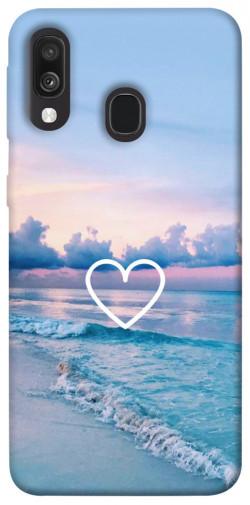 Чехол itsPrint Summer heart для Samsung Galaxy A40 (A405F)